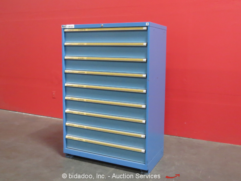 Lista 9 Drawer Tool Cabinet Shop Equipment Storage Industrial Box