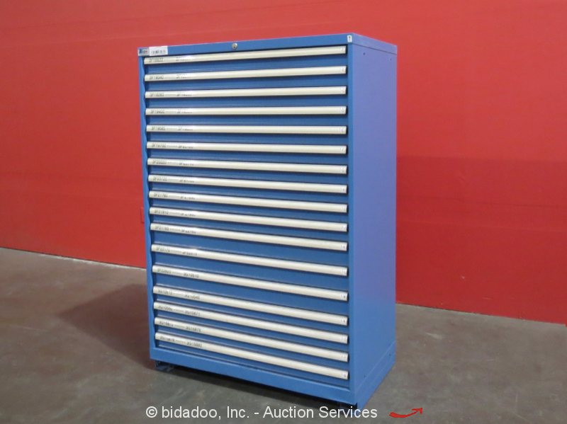 Lista 17 Drawer Tool Cabinet Shop Equipment Storage Bidadoo Box